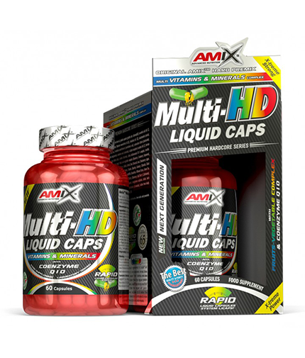 AMIX Multi-HD Liquid Caps / 60 Caps.