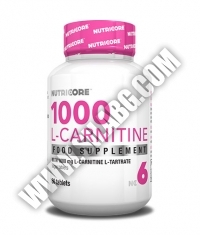 NUTRICORE 1000 L-Carnitine / 60 Tabs.