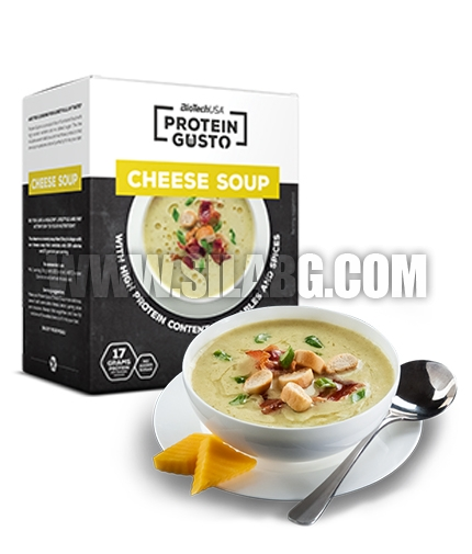 BIOTECH USA Protein Gusto Cheese Soup / 10x30g.