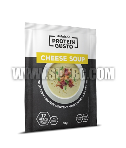 BIOTECH USA Protein Gusto Cheese Soup / 30g.