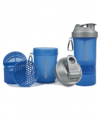 SMART SHAKE Blue / Silver LID 600ml