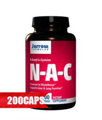 Jarrow Formulas NAC 500mg. / 200 Caps.
