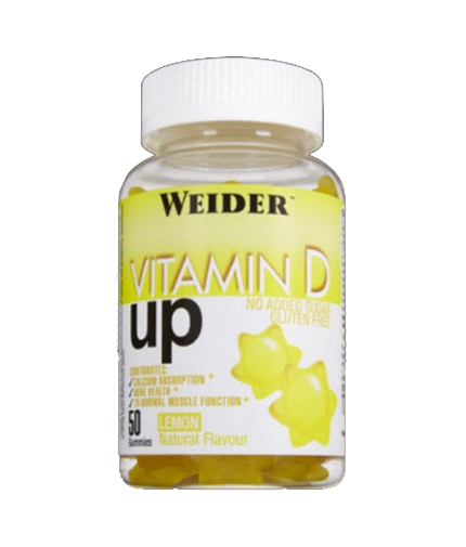 WEIDER Vitamin D UP / 50 gummies