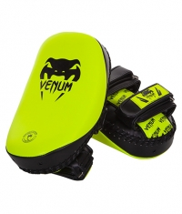 VENUM Light Kick Pad Skintex Leather / Neo Yellow
