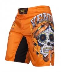 VENUM Santa Muerte 2.0 Fight Shorts / Orange