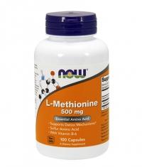 NOW L-Methionine 500mg. / 100 Caps.