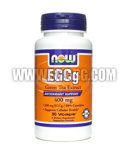 NOW EGCg Green Tea Extract 400mg. /  90 VCaps.