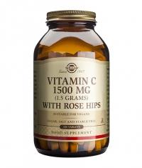 SOLGAR Vitamin C + Rose Hips 1500mg / 180 tabs.