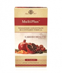 SOLGAR MultiPlus with Cardio Health Essentials / 90 Tabs.