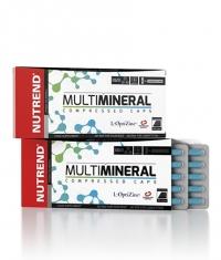 NUTREND Multimineral Compressed Caps / 60 Caps.