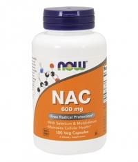 NOW NAC 600mg. / 100 Caps.