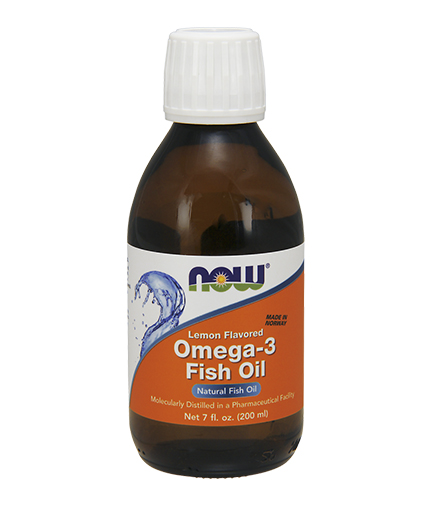 NOW Omega 3 Fish Oil 200 ml.