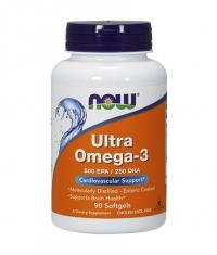 NOW Ultra Omega 3 Fish Oil 90 Softgels