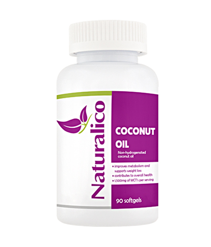 NATURALICO Coconut Oil / 90 Soft.