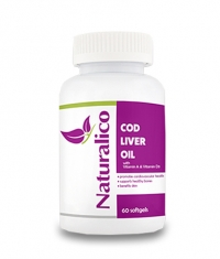 NATURALICO Cod Liver Oil / 60 Soft.