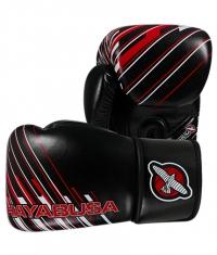 HAYABUSA FIGHTWEAR Ikusa Charged 10oz / Black/Red
