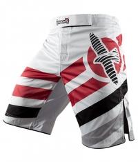 HAYABUSA FIGHTWEAR Elevate Performance Shorts / White