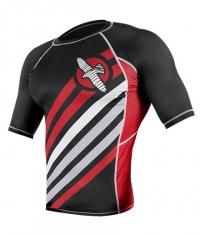 HAYABUSA FIGHTWEAR Elevate Rashguard Short Sleeve / Black
