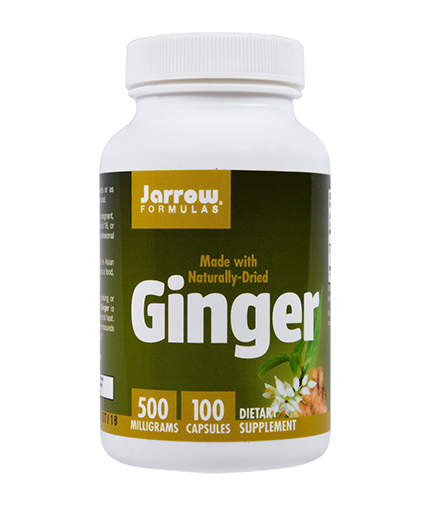 Jarrow Formulas Ginger 4:1 Concentrate 500mg / 100 Caps.