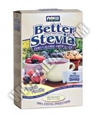 NOW Stevia Extract /French Vanilla/ 100 Packs