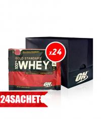 OPTIMUM NUTRITION 100% Whey Gold Standard sachet 24x30g / Box