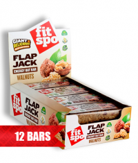 FIT SPO Flap Jack Energy Oat Bar 12 x 90g / Walnuts