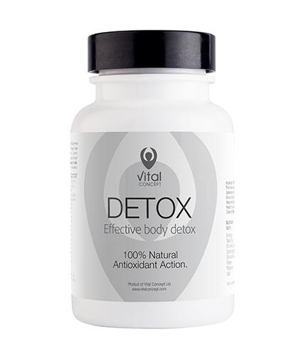 VITAL CONCEPT Detox / 60 Vcaps.