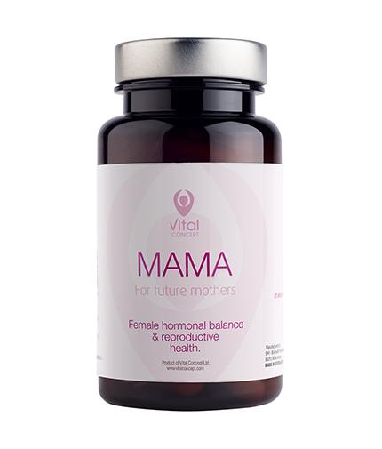 VITAL CONCEPT Mama / 60 Vcaps.