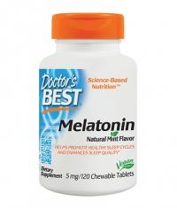 DOCTOR'S BEST Melatonin 5mg / 120 Chew.