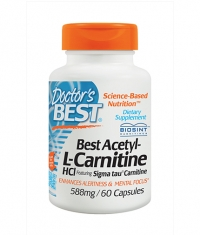 DOCTOR'S BEST Acetyl L-Carnitine 588mg / 60 Caps.