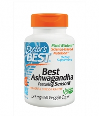 DOCTOR'S BEST Ashwagandha 125mg. / 60 Vcaps.