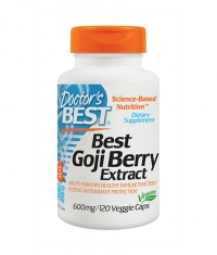 DOCTOR'S BEST Goji Berry Extract 600mg. / 120 Vcaps.