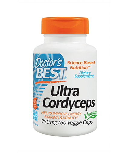 DOCTOR'S BEST Ultra Cordyceps 750mg. / 60 Vcaps.