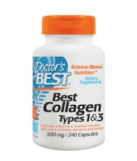 DOCTOR'S BEST Collagen Types 1&3 500mg. / 240 Tabs.