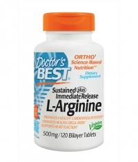 DOCTOR'S BEST L-Arginine / 120 Tabs.