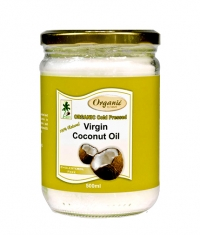 BUREL ORGANICS Virgin Coconut Oil / 500ml.