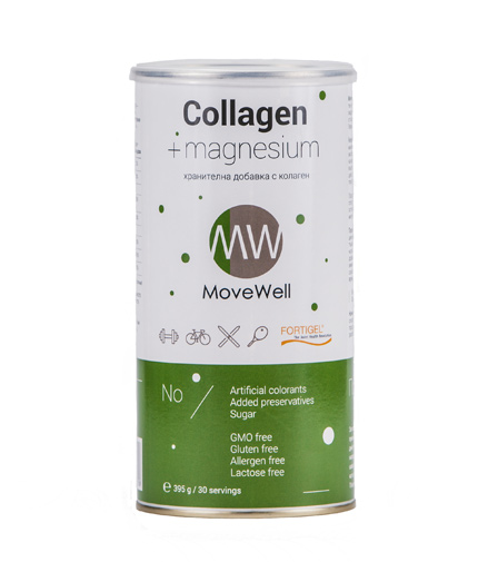 MOVE WELL Collagen + Magnesium / 30 Serv.