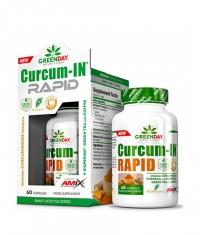 AMIX Greenday Curcum-In Rapid / 60 Caps.
