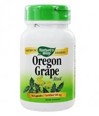 NATURES WAY Oregon Grape 500 mg. 90 Caps.
