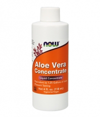 NOW Aloe Vera Concentrate 118 ml. / 236 Serv.