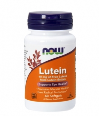 NOW Lutein Esters 10mg. / 60 Softgels