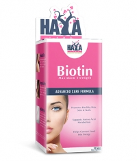 HAYA LABS Biotin Maximum Strength 10,000 mcg. / 100 Tabs.
