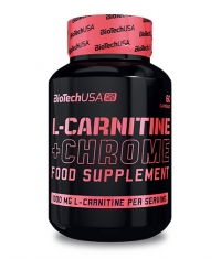 BIOTECH USA FOR HER L-Carnitine + Chrome 60 caps