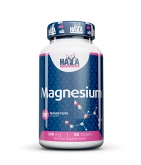 HAYA LABS Magnesium Citrate 200mg / 50 tabs.