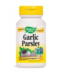NATURES WAY Garlic & Parsley / 100 Caps.