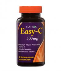 NATROL Easy-C 500mg+Citrus Bioflavonoids / 60 Caps