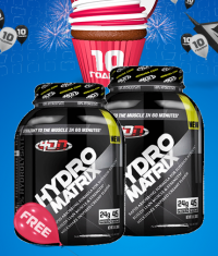 PROMO STACK 1+1 FREE PROTEIN 10 YEARS!