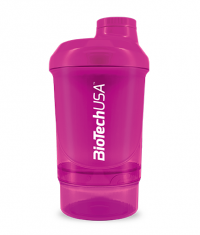 BIOTECH USA Shaker Wave+Nano 300ml (+150ml) / Magenta