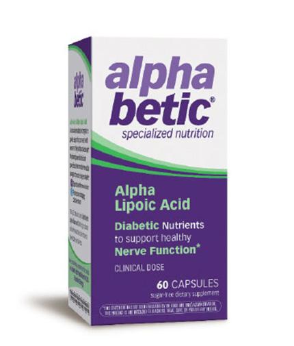 ALPHA BETIC Alpha Lipoic Acid 200mg. / 60 Caps.