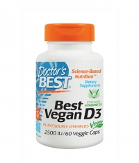 DOCTOR'S BEST Vegan D3 2500IU / 60 Vcaps.